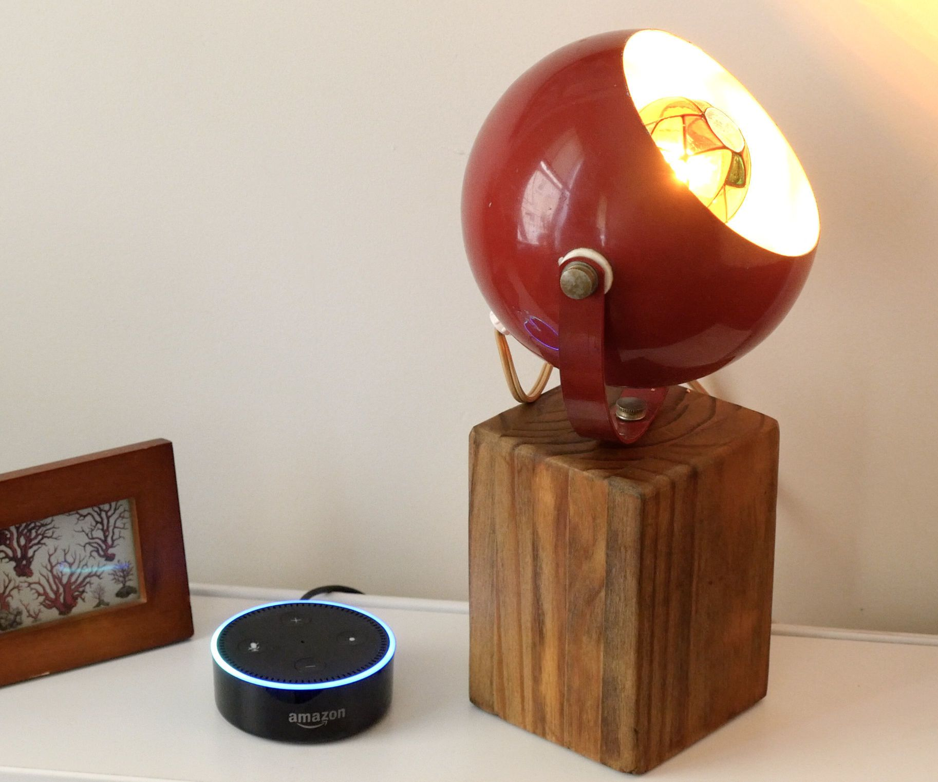 Alexa Smart Lamp With Esp8266 Lamp Vintage Lamps Old Lamps