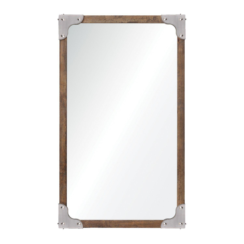 Advocate mirror,Espejo con marco de madera.: Amazon.com.mx: Hogar y ...