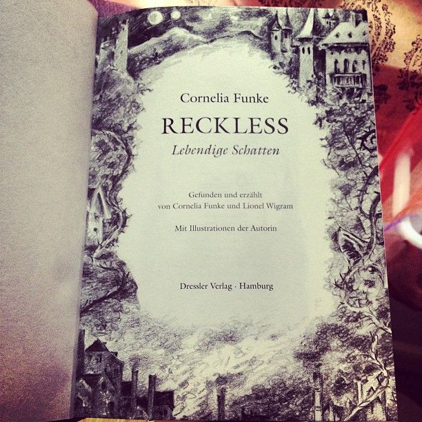 Reckless with beautiful illustrations.