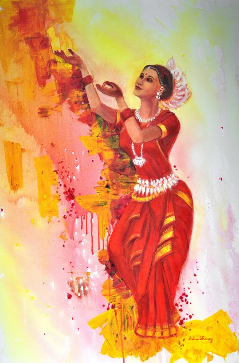 illango color of dance - Google Search   Art   Pinterest   Dancing ... for Abstract Painting Of Indian Dancers  284dqh