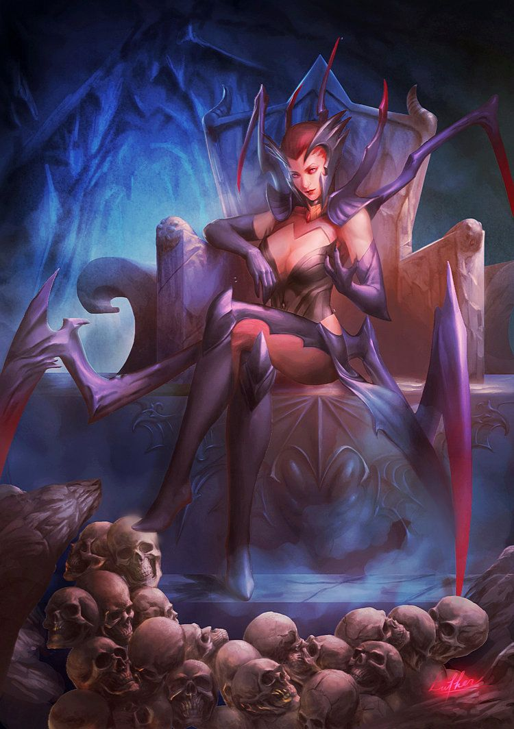Lol Elise By Blackwings736 On Deviantart Lol League Of Legends League Of Legends Spider Queen