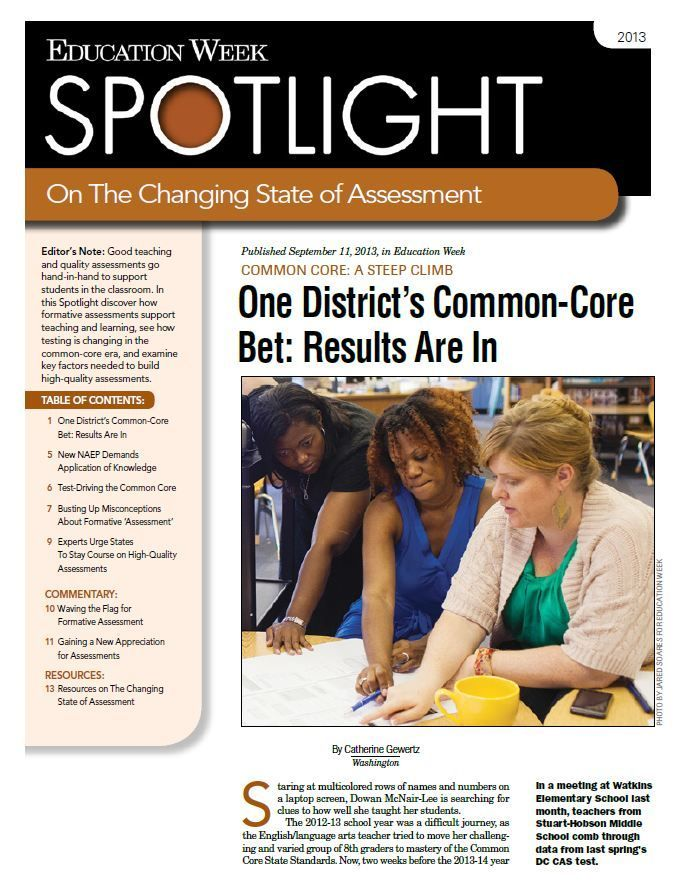 Spotlight on the Changing State of Assessment