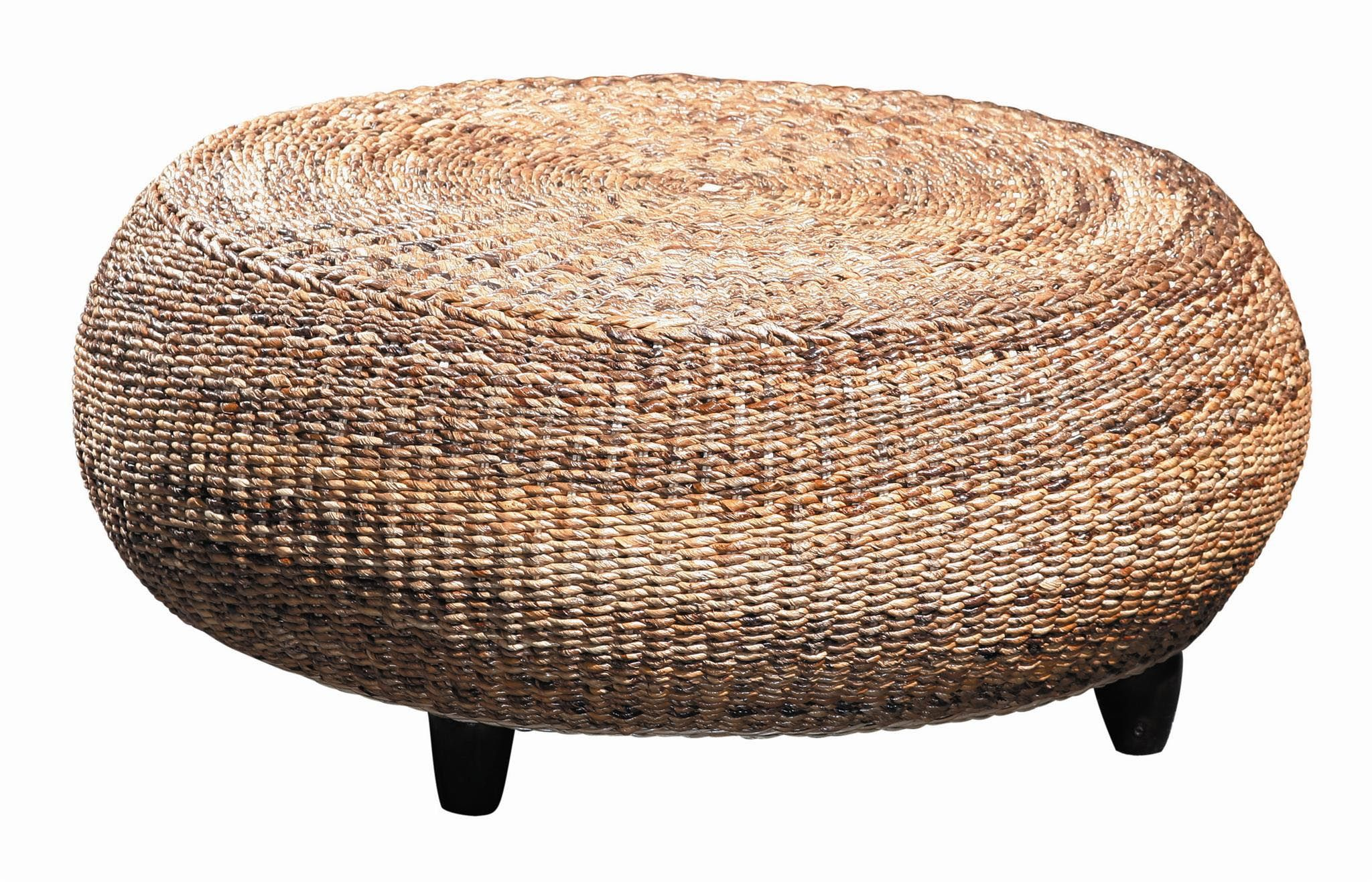 Round Rattan Coffee Table | Coffee Tables | Pinterest