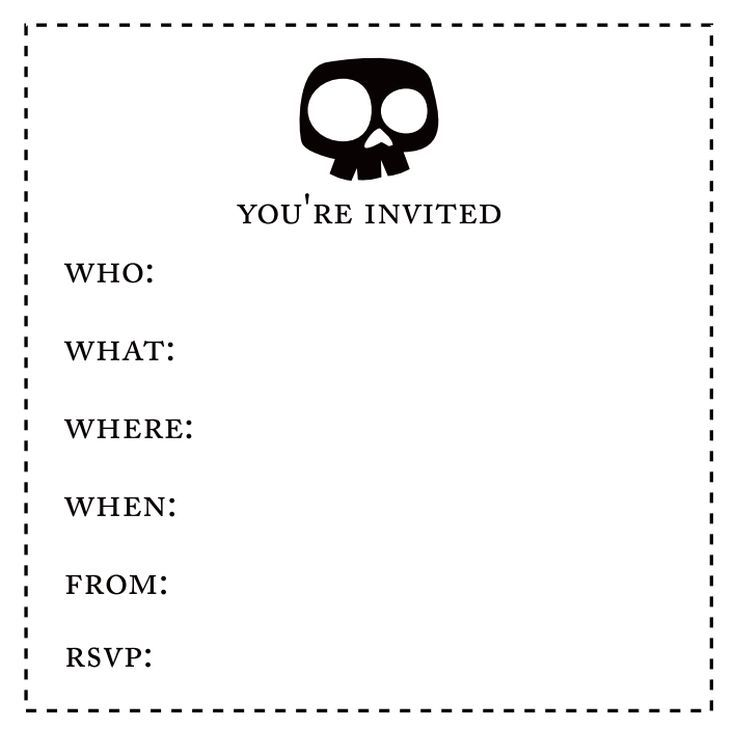 17 Free Halloween Invitations You Can Print From Home Free Halloween Invitations Free Halloween Invitation Templates Printable Halloween Party Invitations