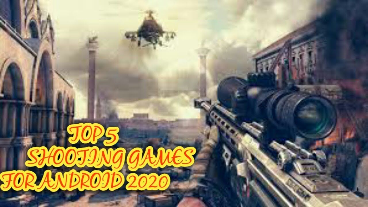 Top 5 Shooting Games In Andorid 2020 Wizard Gaming In 2020 Shooting Games Top Games For Kids Sniper Games