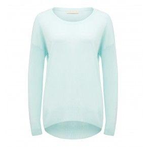 Chloe Scoop Neck Cashmere Sweater
