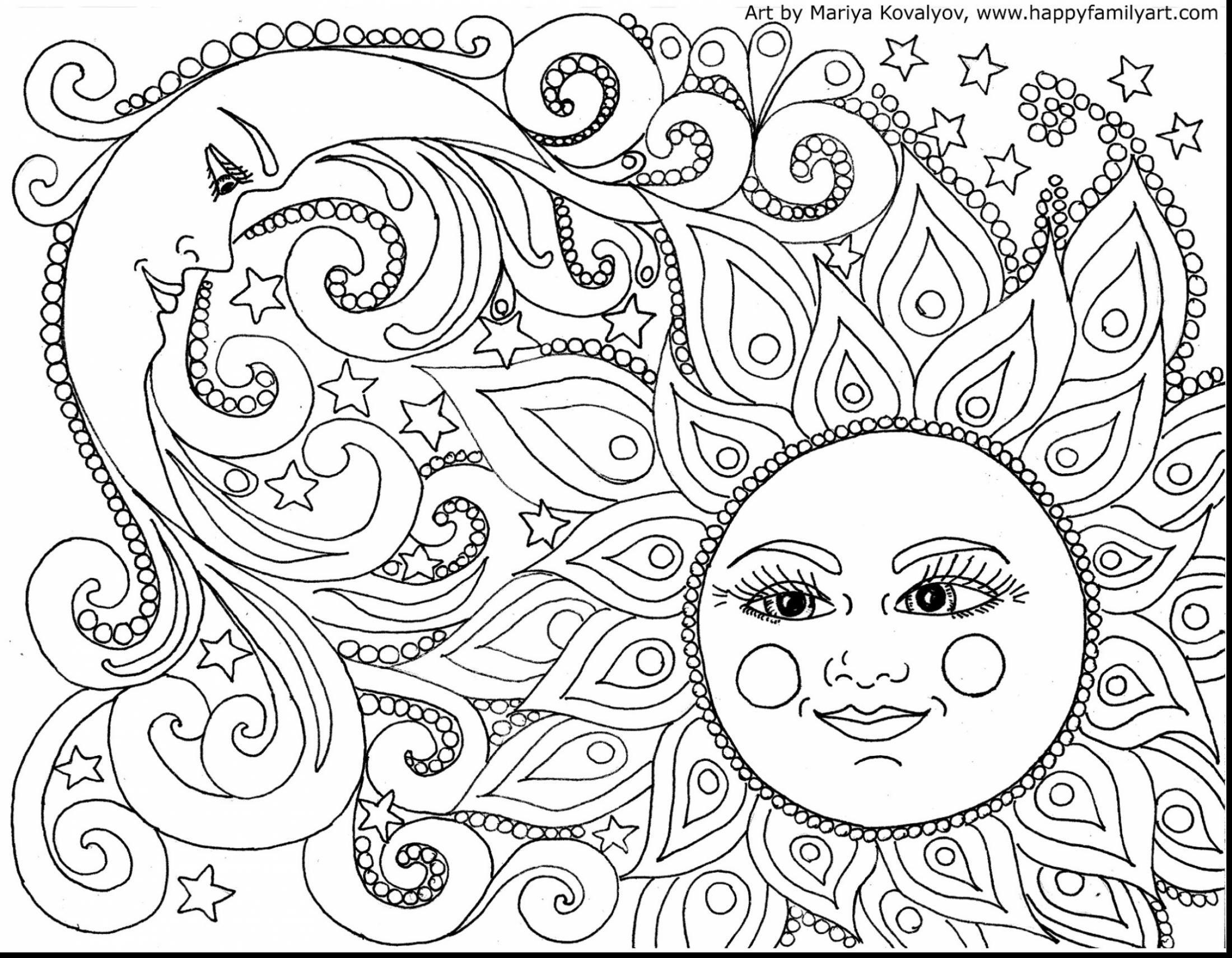 astonishing printable adult coloring pages with sun coloring page ...