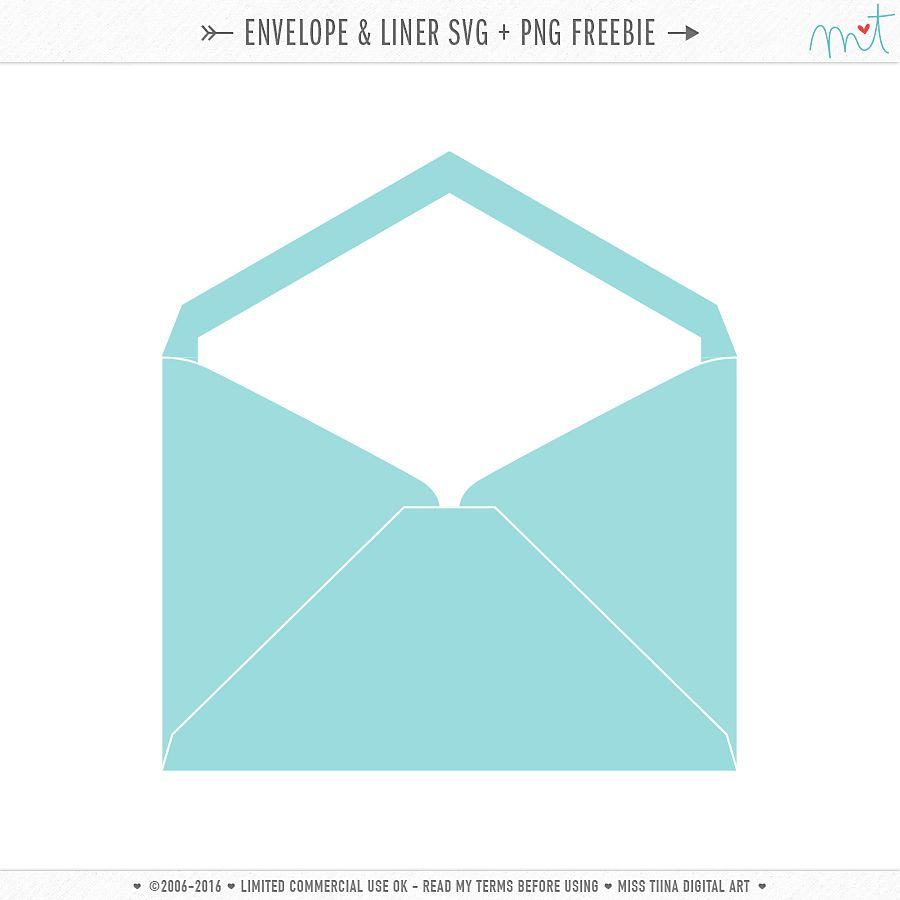 Envelope  Liner Svg  Png Freebie  Envelope Sizes Envelopes And