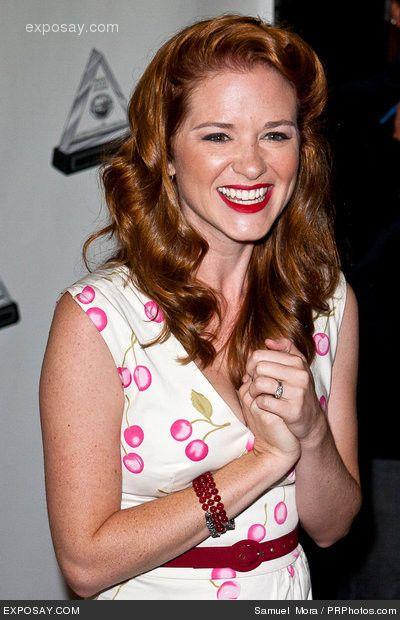 Sarah Drew Sarah Drew Hair Color Natural Redhead