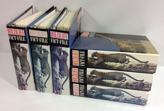 Image result for wildlife fact file binder