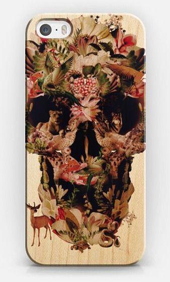 Jungle Skull Transparent iPhone 5s case by Ali Gulec | Casetify