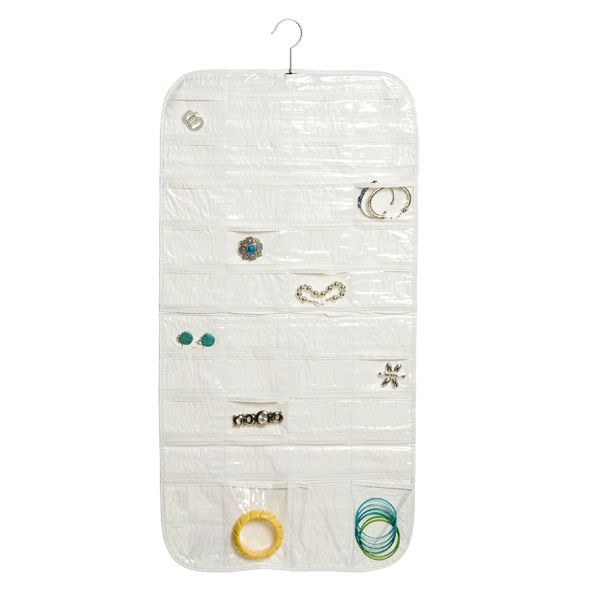 80Pocket Hanging Jewelry Organizer 1999 from The Container Store