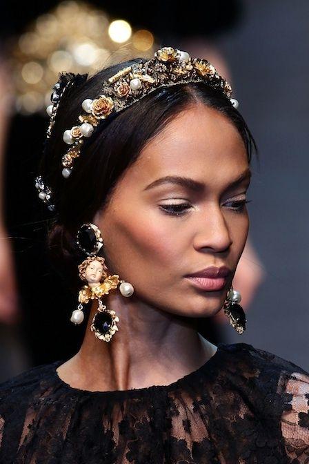 Jewelled Headband, Dolce & Gabbana - Fall 2012