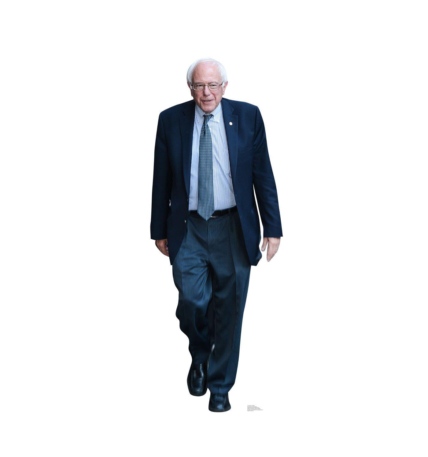 Bernie sanders cardboard cutout 2215 life size