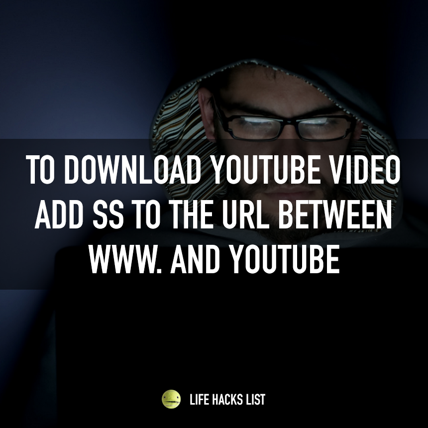 Did you know you can simply download any youtube video by adding did you know you can simply download any youtube video by adding ss to ccuart Images