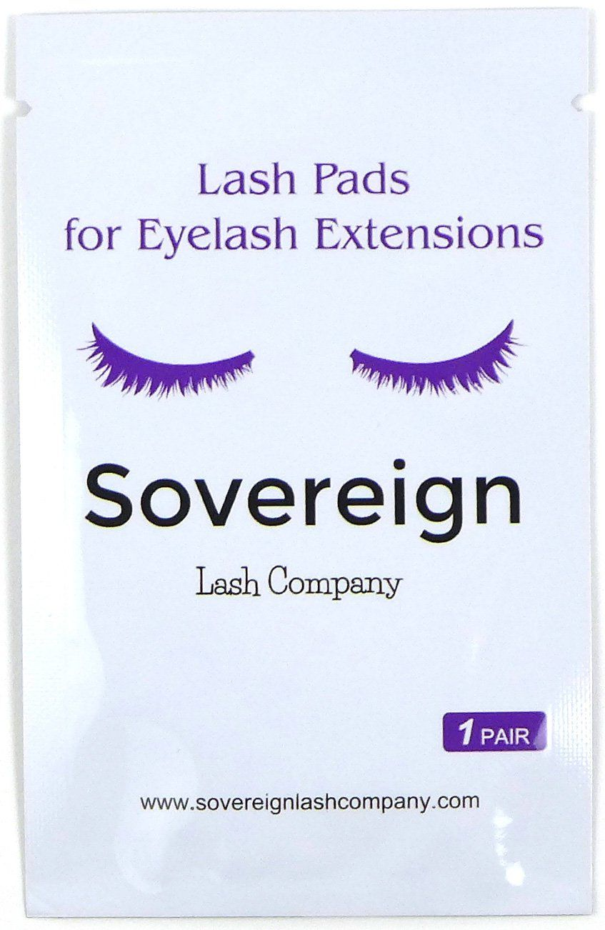 fe8a5104dc2 50 Pairs Lash Pads Eyelash Extension Patches Eye Gel Lint Free. For use  during eyelash