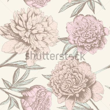 seamless-rose-sketch-pattern-shabby-chic-flower-background-for-you-scrapbooking_145314664.jpg (380×380)