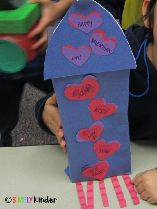 Valentineu0027s Box Family Project
