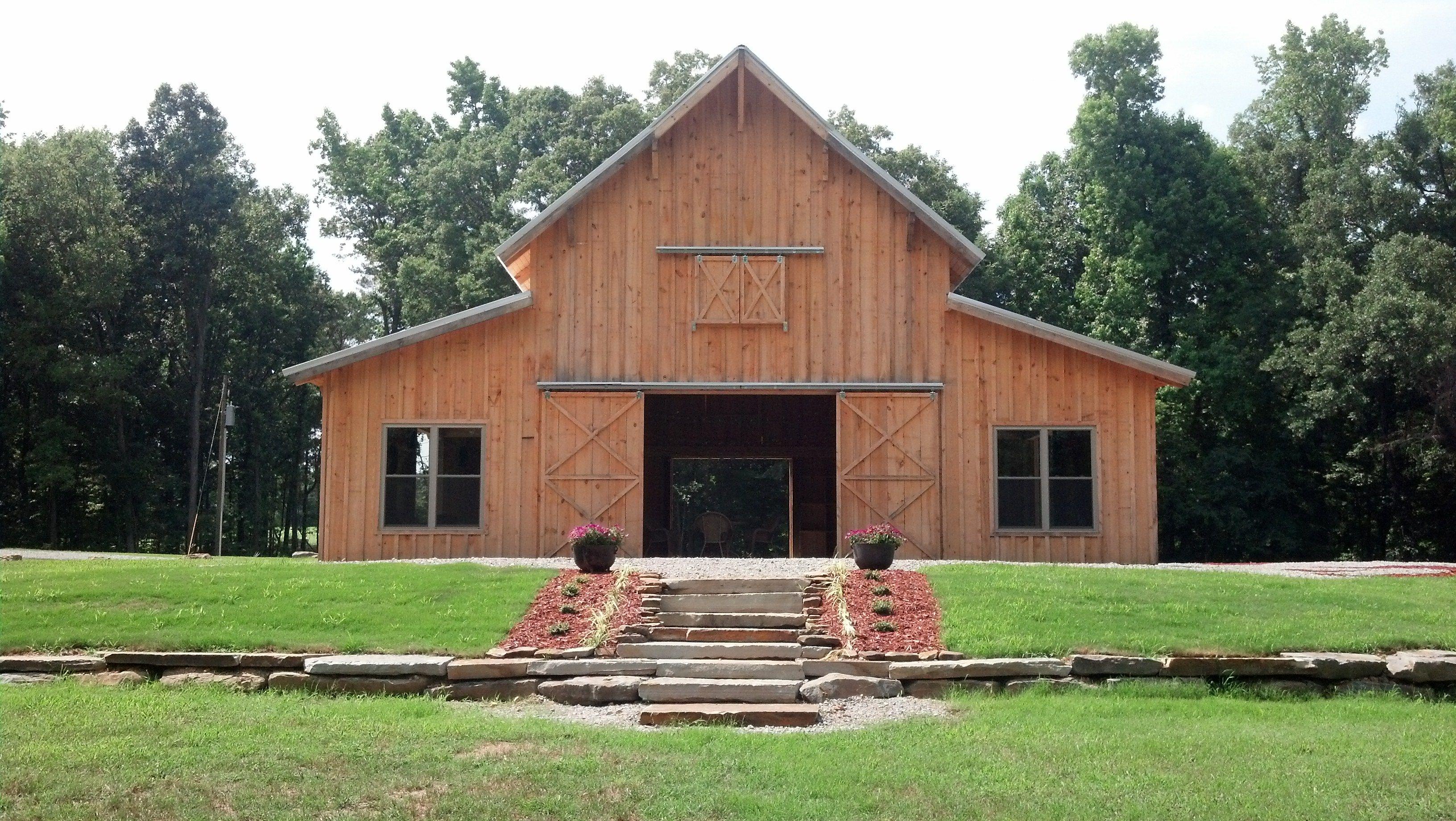 Beautiful barn wedding reception venue! -- Walters Farms ...