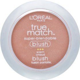 L'Oreal Paris True Match Super-Blendable Blush, Barely Blushing, 0.21 Ounce