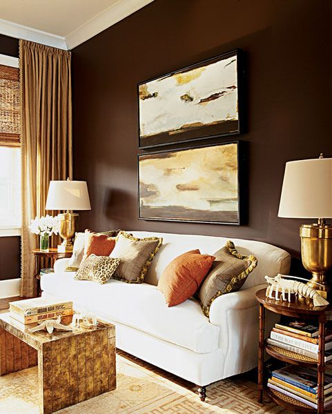Elaine Griffin Mbrsit2 Brown And Gold Living Room Brown Living Room Brown Living Room Decor
