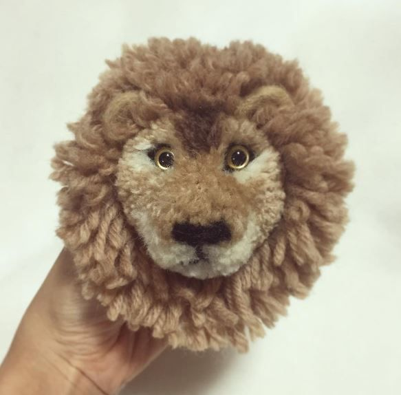 Look At These Amazing Animal Pom-Poms | Top Crochet Pattern Blog ...