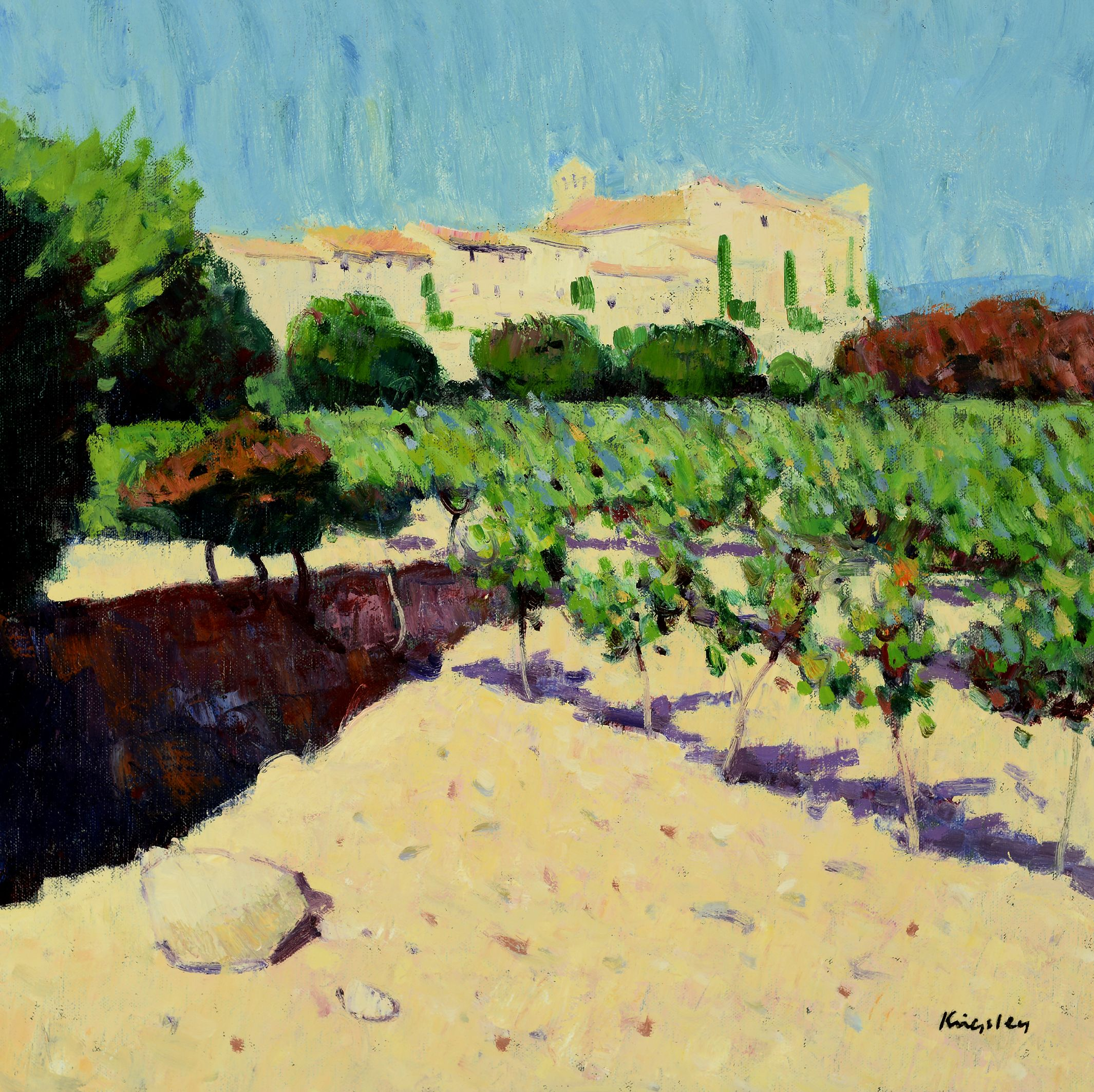 John Kingsley Vineyards, Le Castellet Fine art, Art