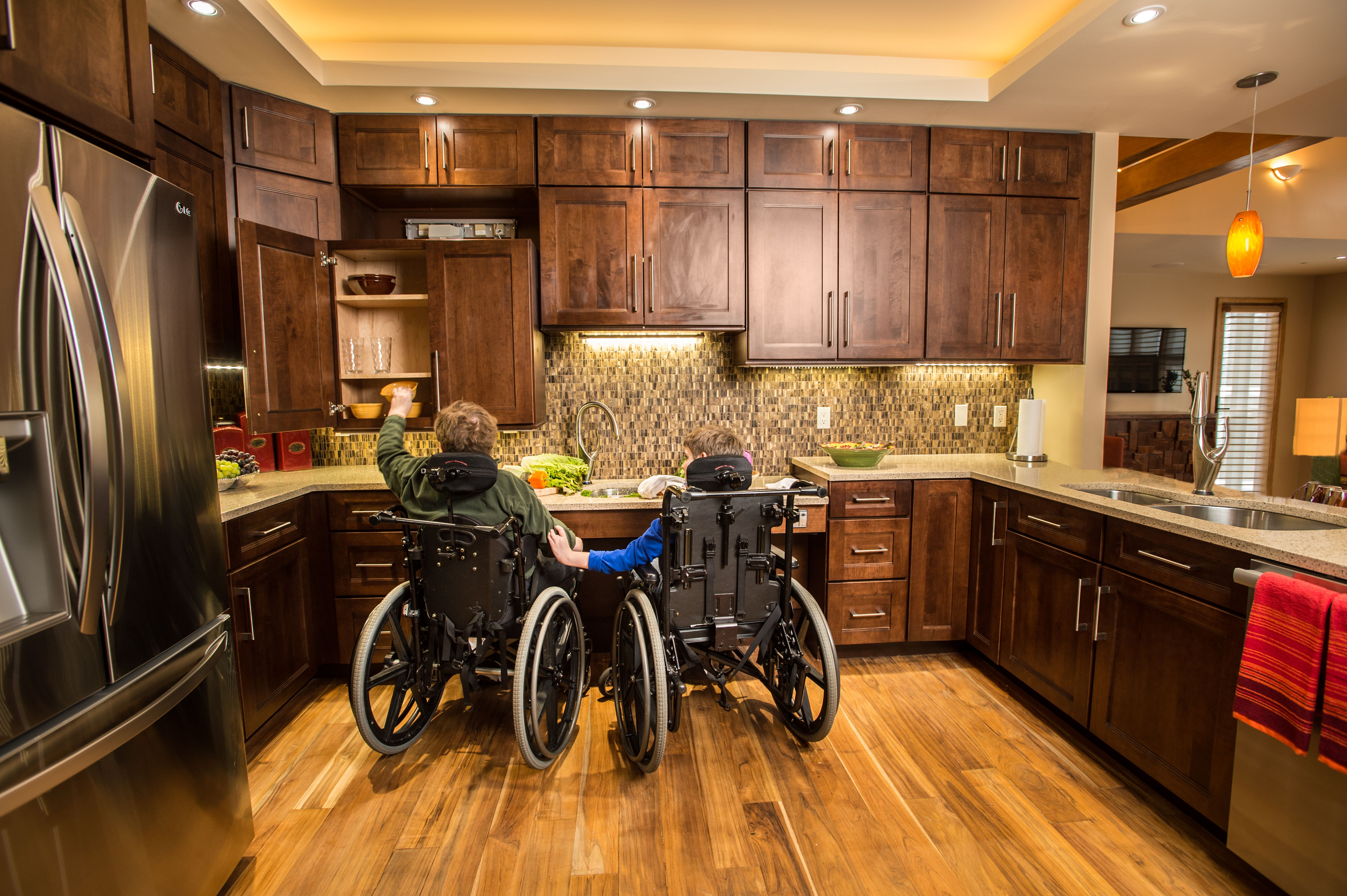 A Dream Design For The Disabled Oakton Parents Build A High Tech Home Their Boys Can Become Adults In Accessible House Dream Design House Design
