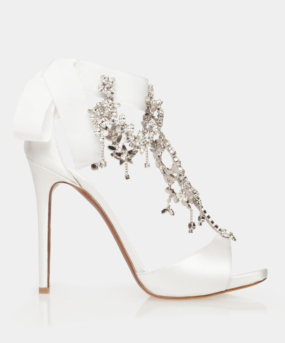 Here She Comes White Wedding Shoes Heels Converse Wedding Shoes Country Shoes Boots
