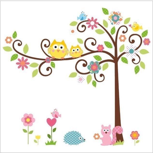 Wandtattoos wand sticker babyzimmer o kinderzimmer for Sticker wand kinderzimmer