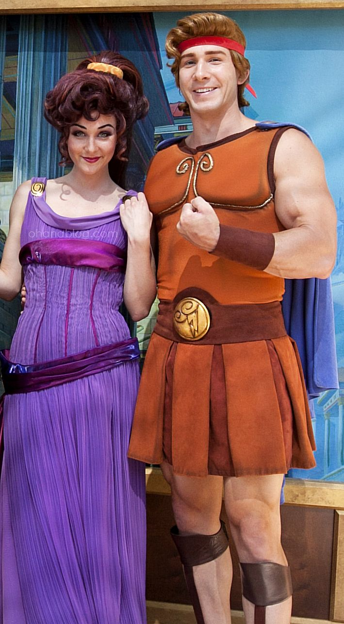 Disneyland // Hercules and Megara // Disney Couples Week ...