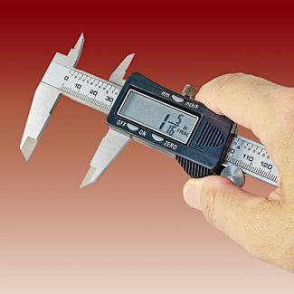 Fractional Digital Caliper | Miniature Tutorials | Digital