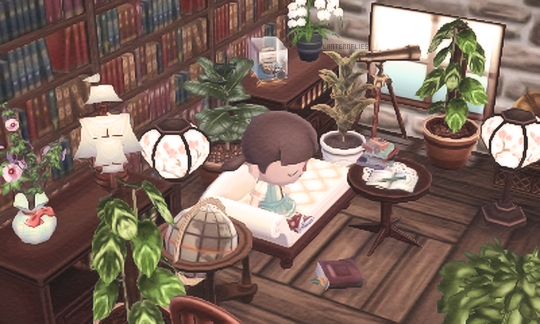 Acnl bücherei Zuhause #photolibrary