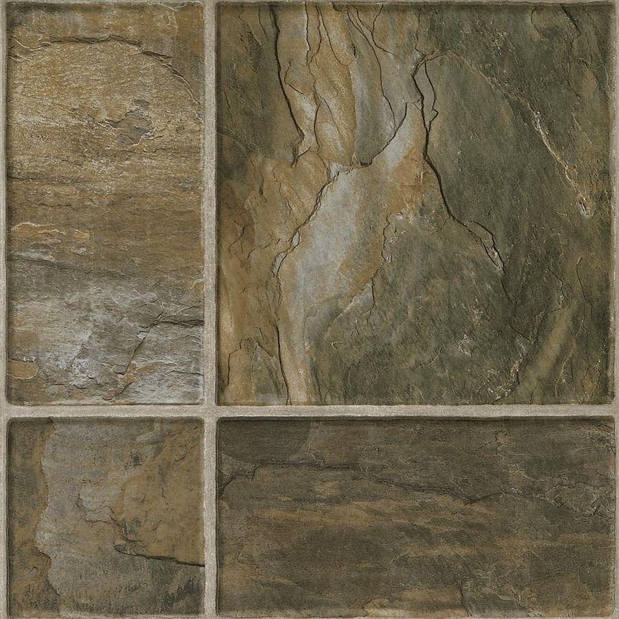 Shop armstrong 16 in w x 47 34 in l canyon slate laminate flooring shop armstrong flooring stones and ceramic 1594 in w x 398 ft l canyon slate tile look laminate flooring at lowes ppazfo