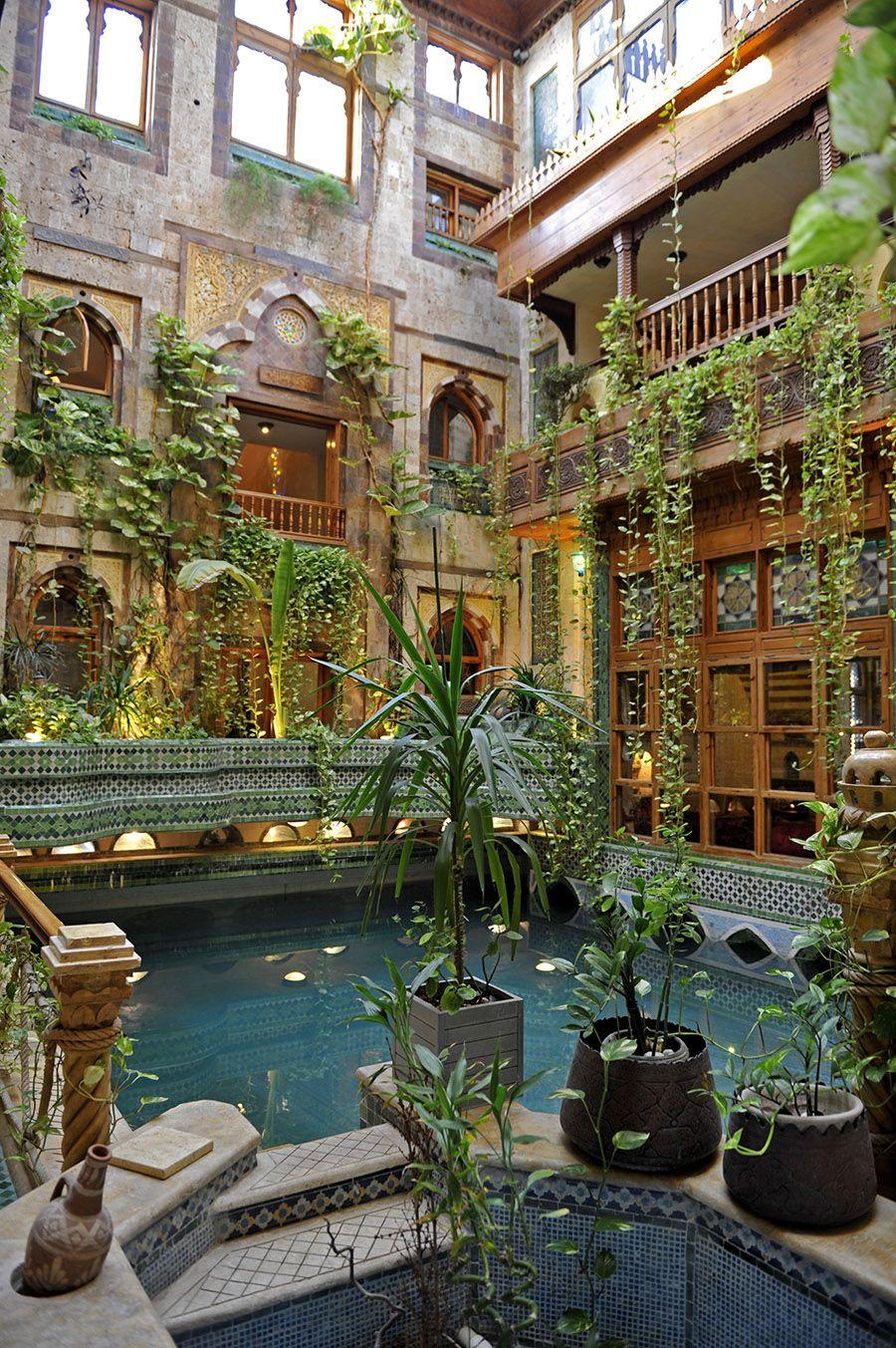 Interior Courtyard Garden Middle