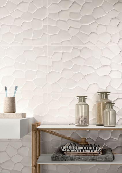 15 idées pour le revêtement de salle de bains Matériaux Pinterest
