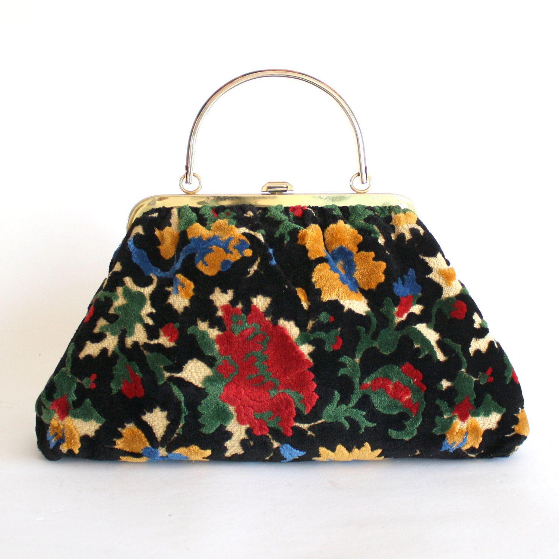vintage floral carpet bag | Carpet bags | Pinterest ...