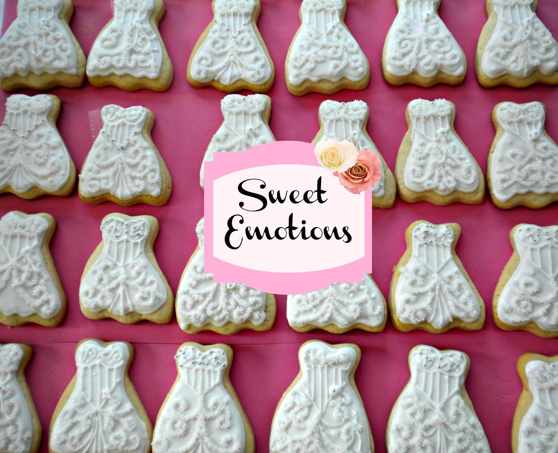 Vestido de novia | Galletas Decoradas Bride & Groom | Pinterest ...