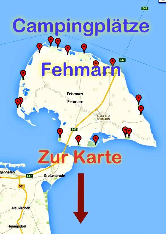 campingplätze ostsee deutschland karte Campingplätze Fehmarn Deutschland Karte http://.campingcampus