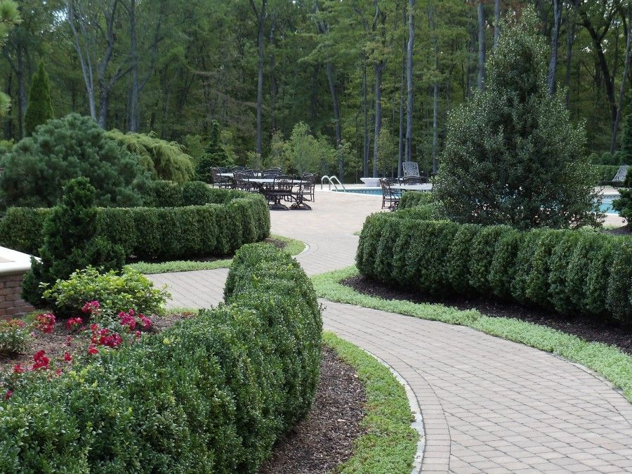 formal landscape and garden design