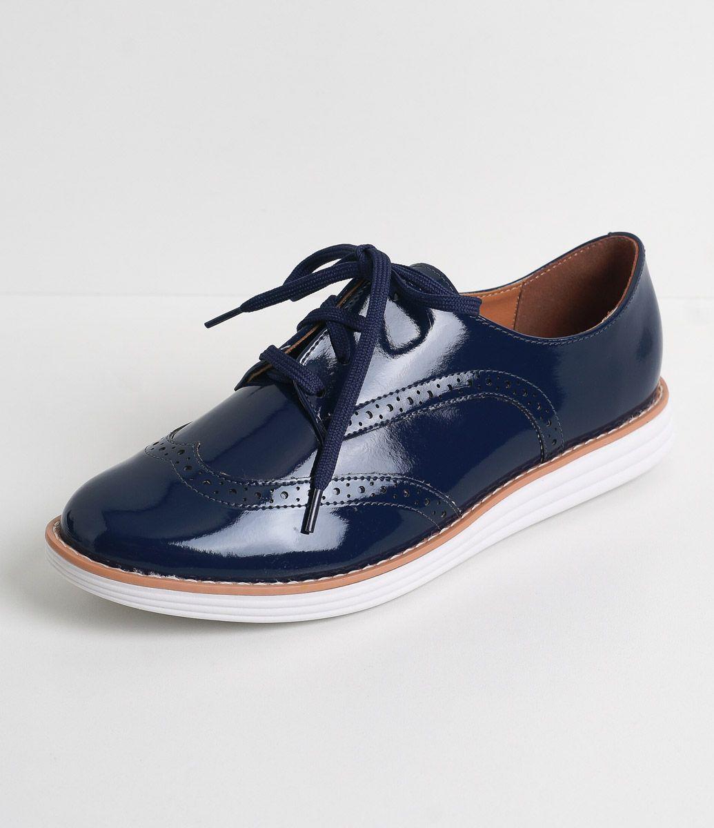 e5fa4be07a Sapato feminino Material  sintético Oxford Marca  Vizzano COLEÇÃO VERÃO  2017 Veja outras opções de sapatos femininos.