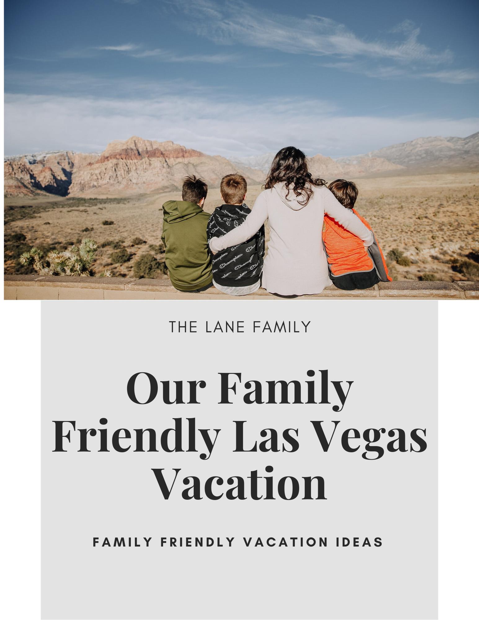 Las Vegas Family Friendly Vacation Inspiration - Our Family Vacation to Las Vegas - Las Vegas Family Vacation Ideas - Family Vacation Ideas  Blog by Jessica Lane, Mom + Wedding Photographer and Blogger #traveladdict #familyadventures #familyvacation
