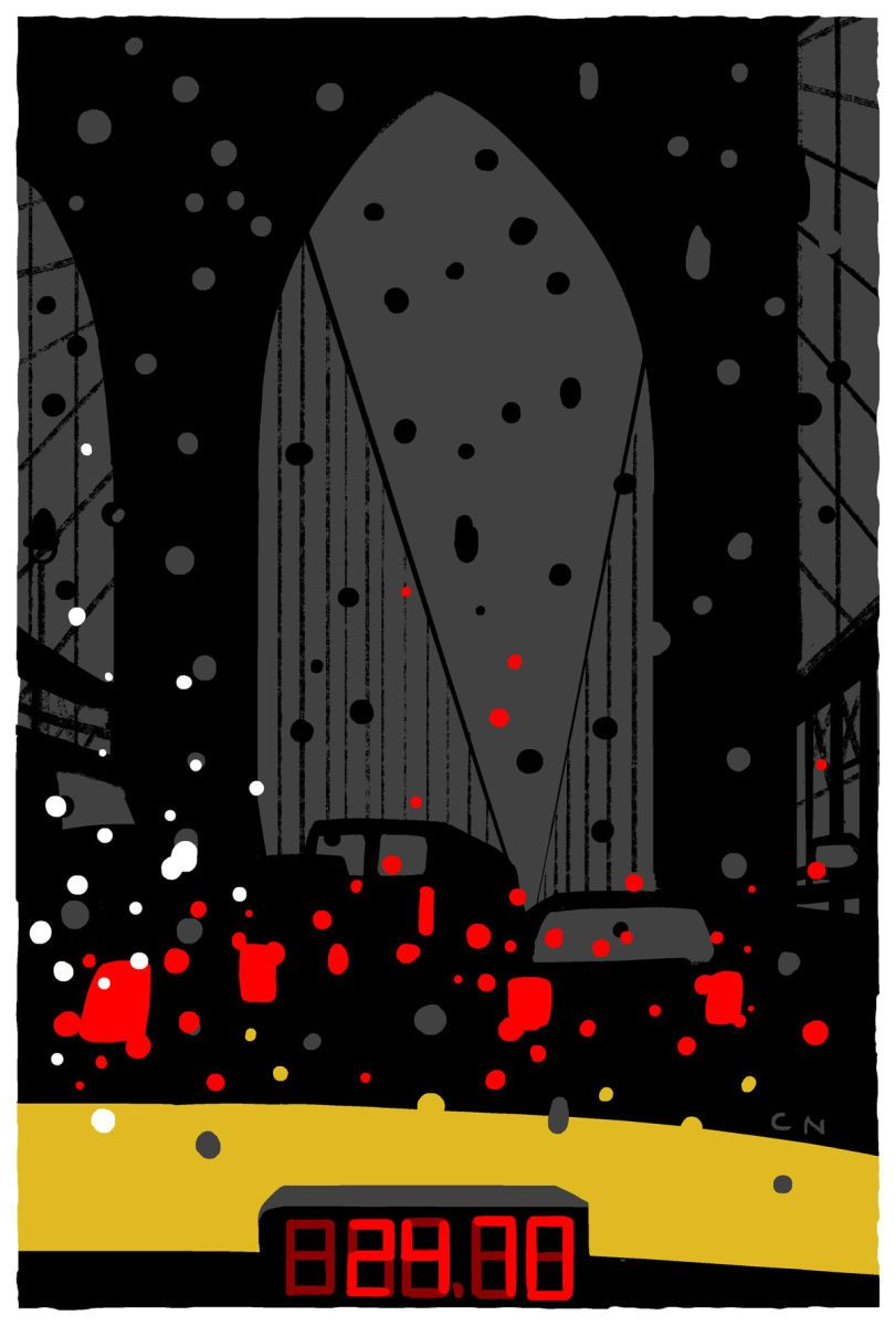 A Rainy Day In New York Bern Cover Story Christoph Niemann S Rainy Day New Yorker Covers The New Yorker Christoph Niemann