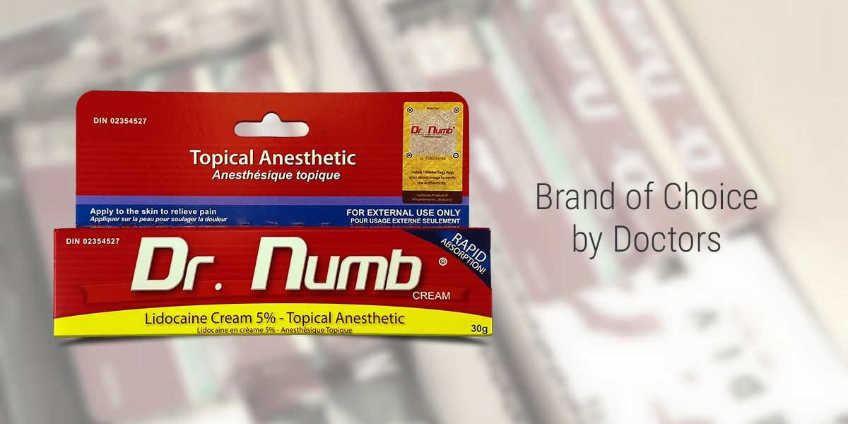 Dr numb australia official site skin numbing cream how