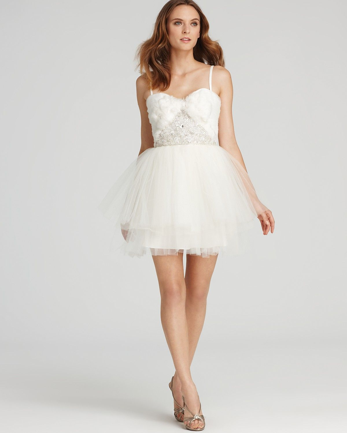 After wedding dress reception  cutesy  Wedding Dress  Pinterest  Shops Products and Feather dress