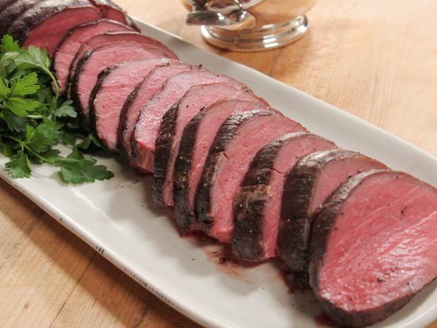Filet of Beef with Mustard Mayo Horseradish Sauce
