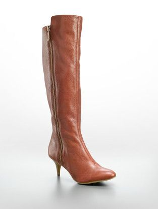 Boot Kitten Calvin Zip By Jewel Leather KleinBotas Tumbled Heel 4Ajq35RL