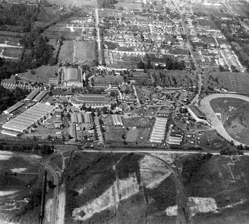 Old Kentucky State Fairgrounds, Cecil Ave. West of 38th St., Louisville, Kentucky, 1929.