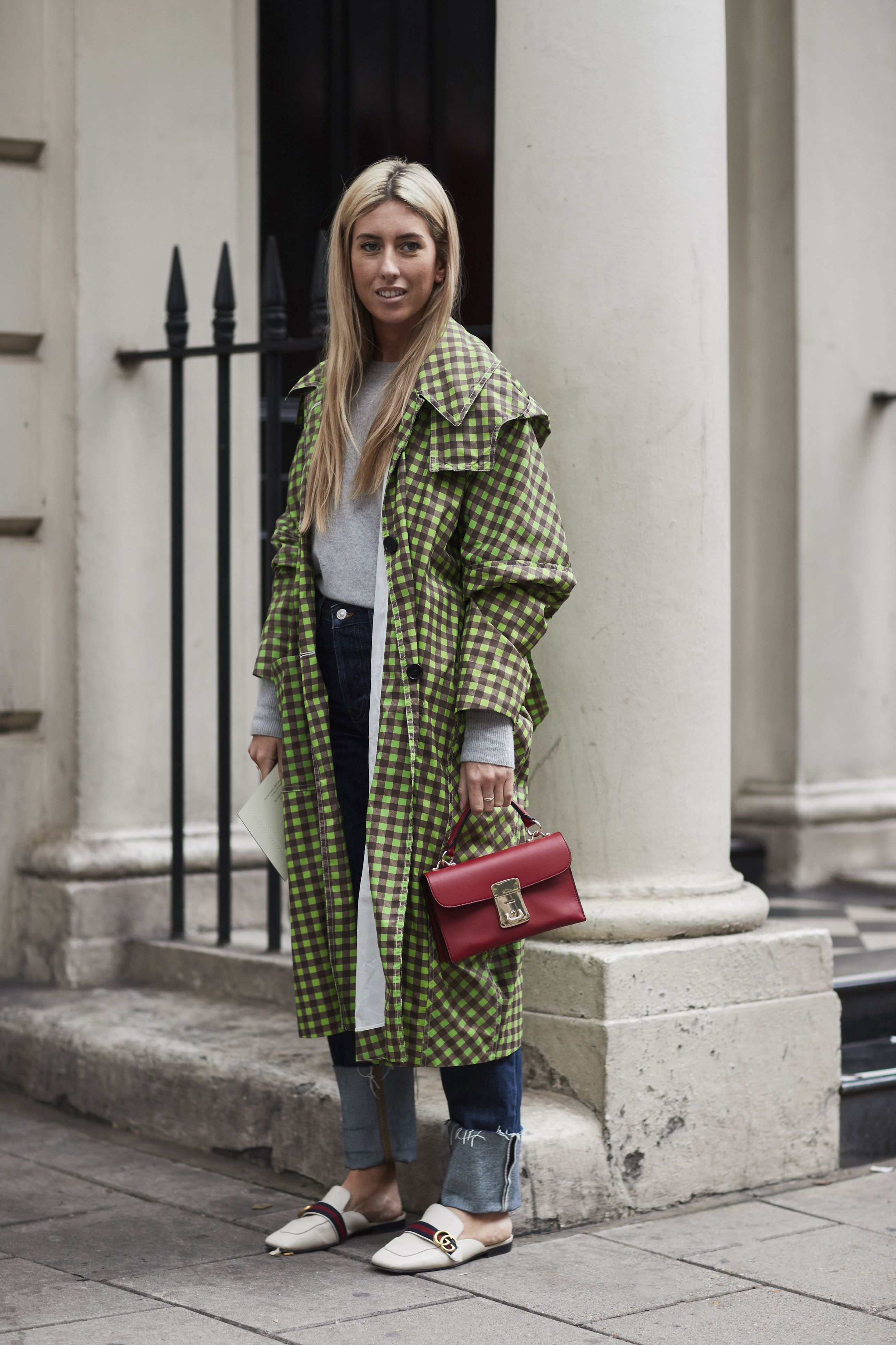 e1c9d11e07b The Best Street Style At London Fashion Week Spring Summer 2018