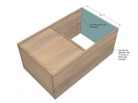 Modern PureBond Toy Box